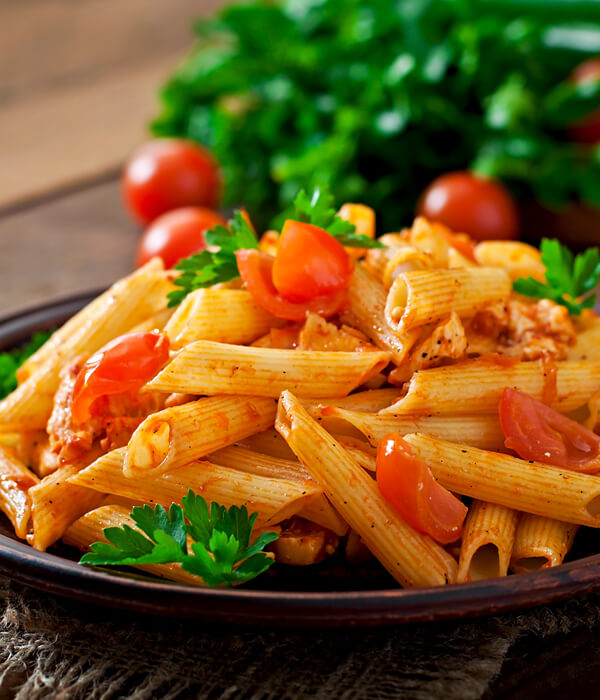 Pasta with Souce